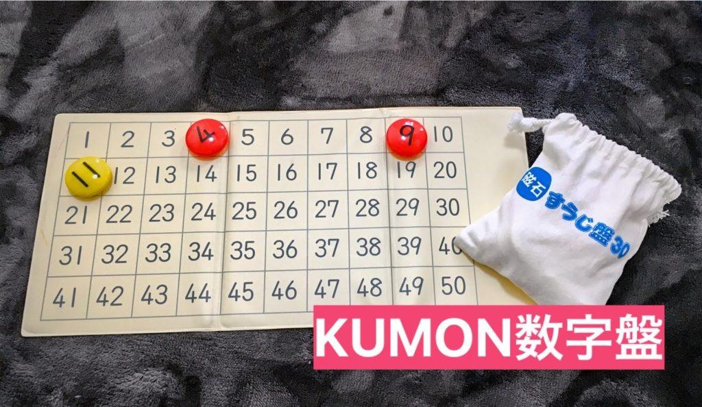 KUMON数字盤