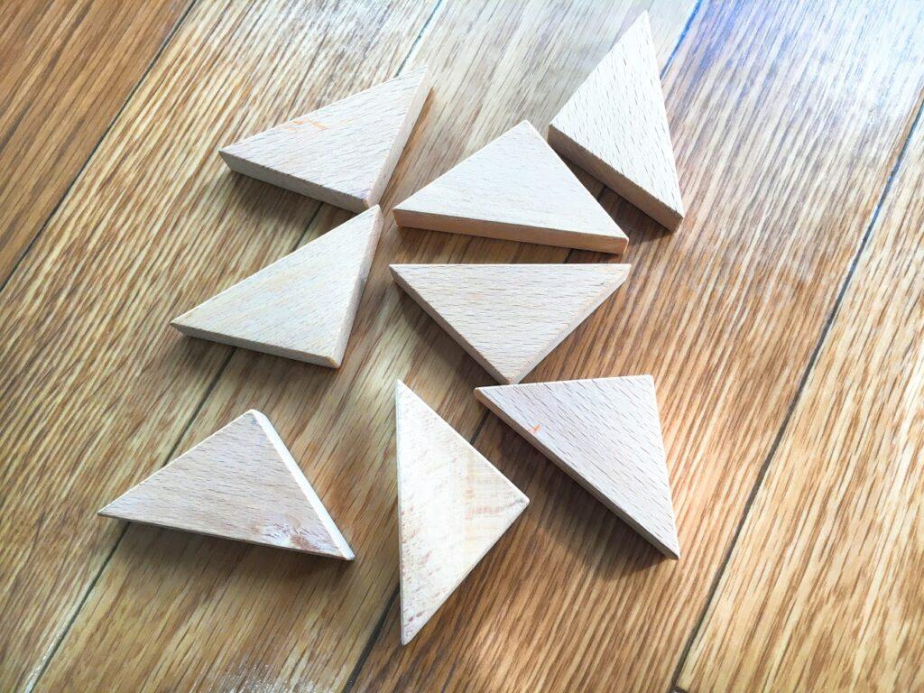 くもんタングラム三角ピース
